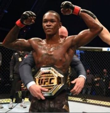 Nigerian Fighter Israel Adesanya knocks out Paulo Costa to retain UFC middleweight championship