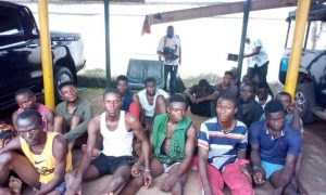 Police Arrest Hoodlums For Allegedly Destroying Police Facilities In Anambra (Photos)
